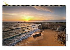 Pointe Du Percho And Port Blanc Carry-all Pouch