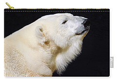 Carry-all Pouch featuring the photograph Polar Bear by Dan Miller