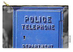 Police Box Carry-all Pouch