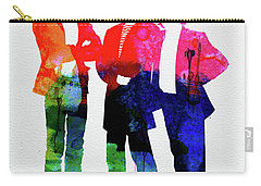 Police Watercolor Carry-all Pouch