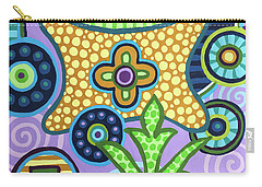 Pop Botanical 2 Carry-all Pouch