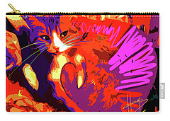 Pop Cat Tiger Carry-all Pouch
