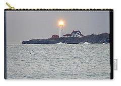 Portland Head Lighthouse Through The Gun Port Carry-all Pouch