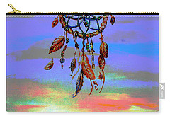 posterized Sweet Dreams Tetons Carry-all Pouch
