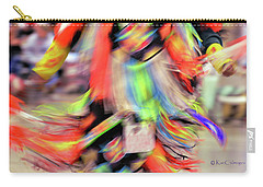 Powwow Abstraction #2 Carry-all Pouch