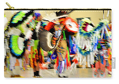 Powwow Abstraction #4 Carry-all Pouch