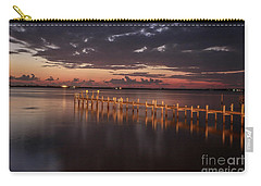 Pre-dawn Pier Glow Carry-all Pouch