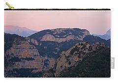 Carry-all Pouch featuring the photograph Pre Pyrenees Sunset by Stephen Taylor