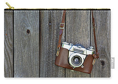 Carry-all Pouch featuring the photograph Pre-selfie by Jamart Photography