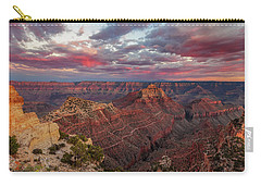 Carry-all Pouch featuring the photograph Pretty In Pink by Rick Furmanek