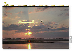 Carry-all Pouch featuring the photograph Prime Hook Sunrise 1 by Buddy Scott