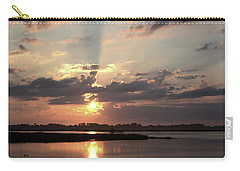 Carry-all Pouch featuring the photograph Prime Hook Sunrise 3 by Buddy Scott