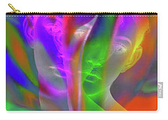 Prism Girl II    Mulit Dimensional Woman Carry-all Pouch