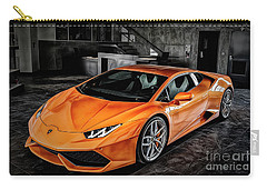 Carry-all Pouch featuring the photograph Private Parking by Brad Allen Fine Art