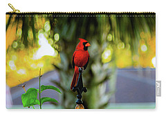 Proud Male Cardinal Carry-all Pouch