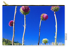 Proud Mountain Flowers Carry-all Pouch
