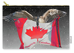 Proud To Be Canadian Carry-all Pouch