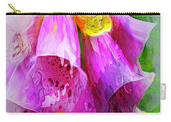 Psychedellic Pinkbells Carry-all Pouch