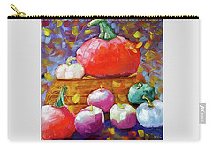 Pumpkins And Apples Carry-all Pouch
