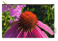 Carry-all Pouch featuring the photograph Purple Coneflower by Lukas Miller