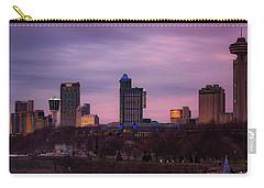 Purple Haze Skyline Carry-all Pouch