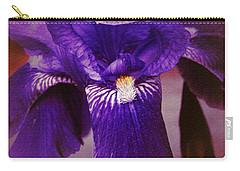Purple Iris Portrait Carry-all Pouch