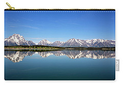 Carry-all Pouch featuring the photograph Purple Mountains Majesty by Sue Collura