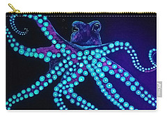 Purple Octopus  Carry-all Pouch