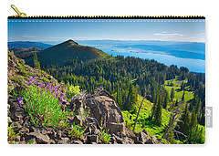 Purple Vista Carry-all Pouch