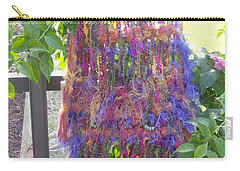 Purple Weaving Carry-all Pouch