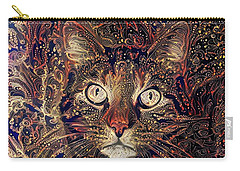 Mystic In Paisley Carry-all Pouch