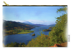 Queens View Painting Carry-all Pouch