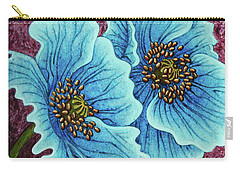 Carry-all Pouch featuring the painting Quiet Contemplation by Amy E Fraser
