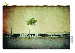 Carry-all Pouch featuring the photograph Quiet Evening by Milena Ilieva
