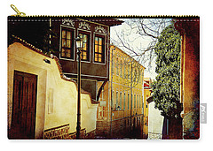 Carry-all Pouch featuring the photograph Quiet Street by Milena Ilieva