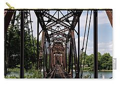 Railroad Bridge 6th Street Augusta Ga 1 Carry-all Pouch