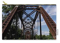 Railroad Bridge 6th Street Augusta Ga 2 Carry-all Pouch