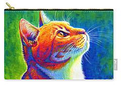 Rainbow Cat Portrait Carry-all Pouch