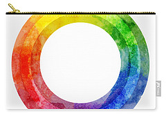 Rainbow Color Wheel Carry-all Pouch