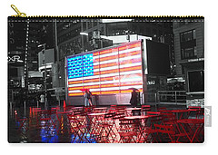 Rainy Days In Time Square  Carry-all Pouch