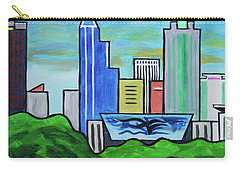 Raleigh Skyline No Perspective 16 X 20 Ratio Carry-all Pouch