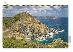 Carry-all Pouch featuring the photograph Ram Head Panoramic by Adam Romanowicz