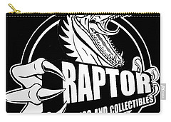 Raptor Comics Black Carry-all Pouch