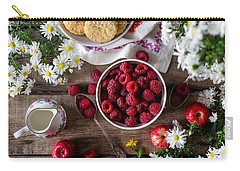 Raspberry Breakfast Carry-all Pouch