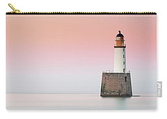Carry-all Pouch featuring the photograph Rattray Lighthouse Sunset- Scotland by Grant Glendinning