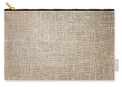 Raw Natural Linen Carry-all Pouch
