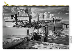 Carry-all Pouch featuring the photograph Ready To Go In Bw by Doug Camara