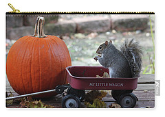 Ready To Ride My Little Red Wagon Carry-all Pouch