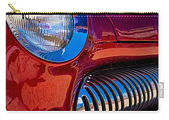 Red Car Chrome Grill Carry-all Pouch