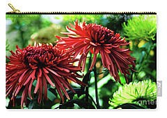 Red Chrysanthemums Carry-all Pouch